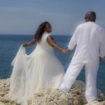 Wedding photo in Cuba