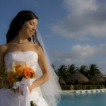 bride in mexico