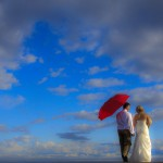 Ogden Point Breakwater wedding portrait