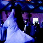 first dance for a newly married couple in Sooke Harbour House