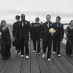 Sidney Pier Portrait vancouver island wedding