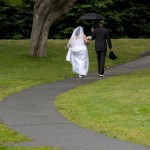 married couple walking in beacon hill park