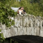 romantic wedding portrait at Beacon hill park