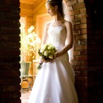 bridal portrait in Duncan BC
