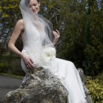 Beacon Hill Park bridal portrait