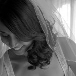 a bride getting ready for the ceremony at Hatley Castle