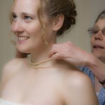a bride getting ready for the ceremony in Victoria