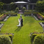 hatley castle italian gardens wedding