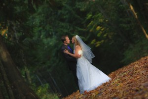 Bowen park wedding portrait: Nanaimo, BC