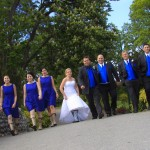 wedding party at beacon hill park